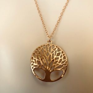 Golden Stainless Steel Tree of Life ❤️